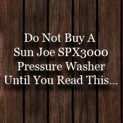 Sun Joe Spx3000 Pressure Washer Review Pressure Washer